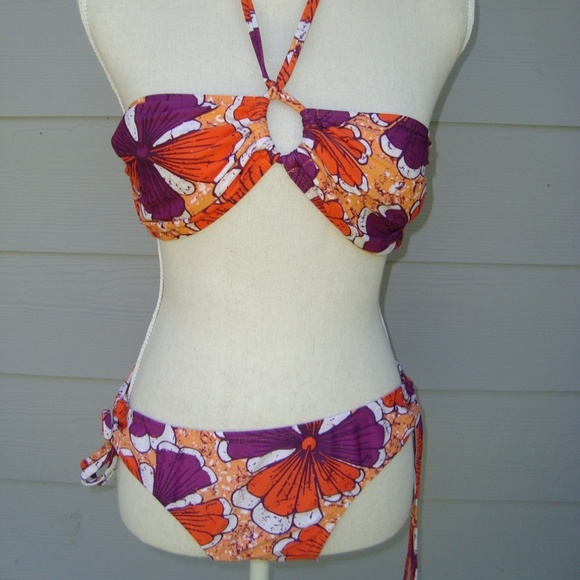 Old Navy Other - Old Navy Africa UV Band Warm Floral Swimming Suit